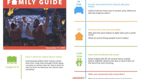 November 17th: Family Guide
