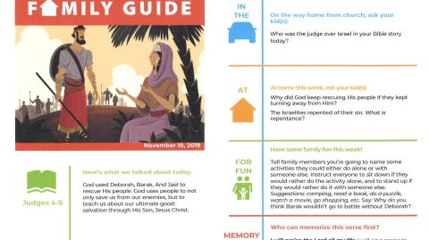 November 10th: Family Guide