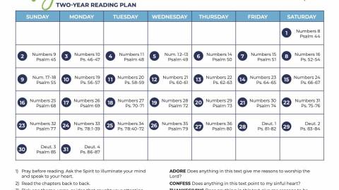 May: All-Church Reading Plan